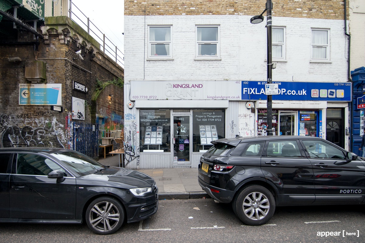 The White Shop – Bethnal Green Road