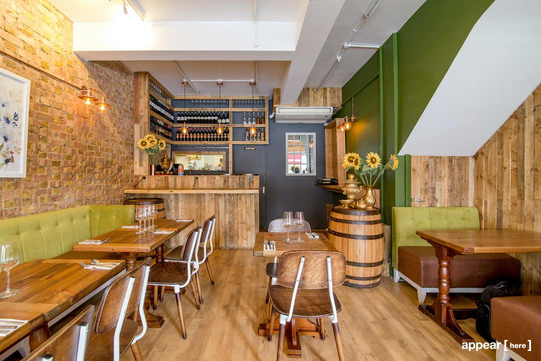 East Finchley's Exposed Brick Restaurant