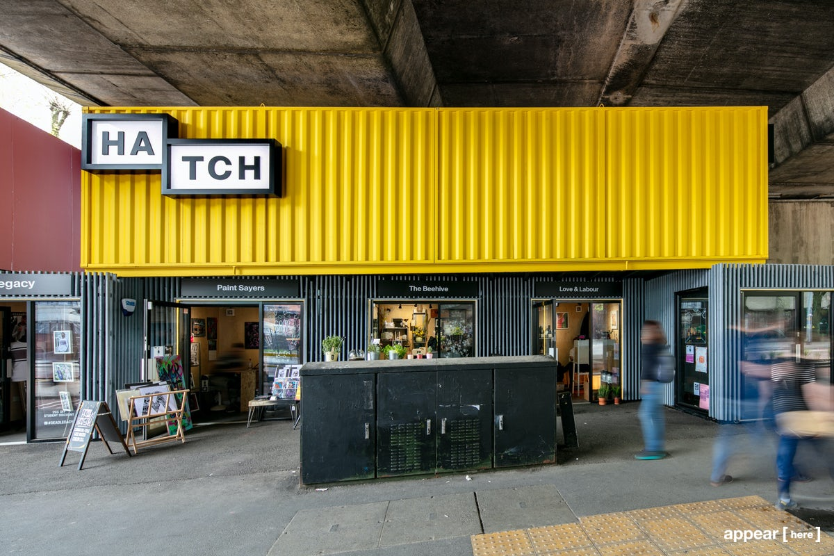 Rent a space | Hatch, Manchester – The Yellow Box | Pop up ...