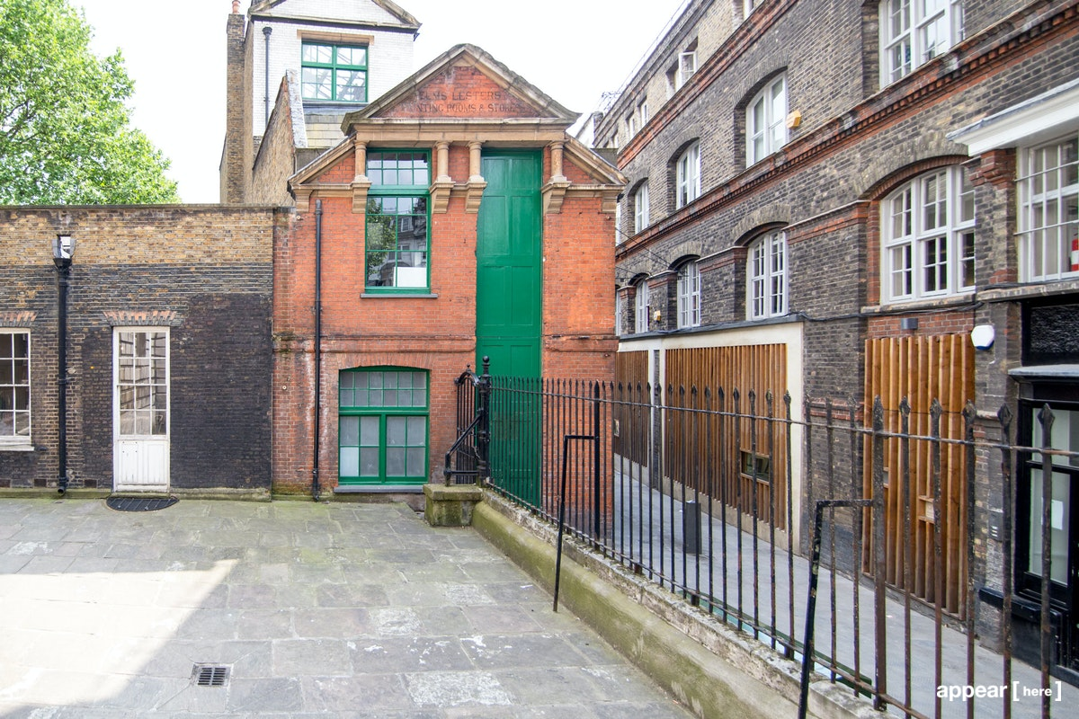 Elms Lesters Painting Rooms – Flitcroft Street, Covent Garden