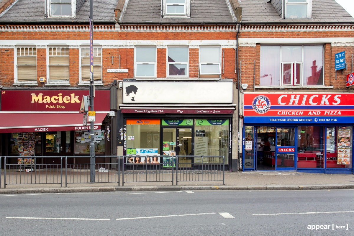 Mitcham Road, Tooting – The Old Salon