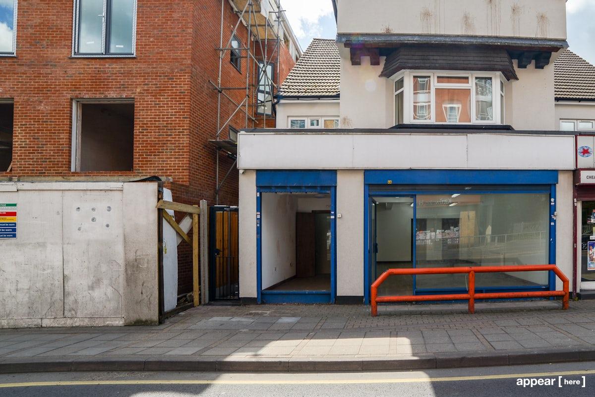 Slough High Street - Small Shop