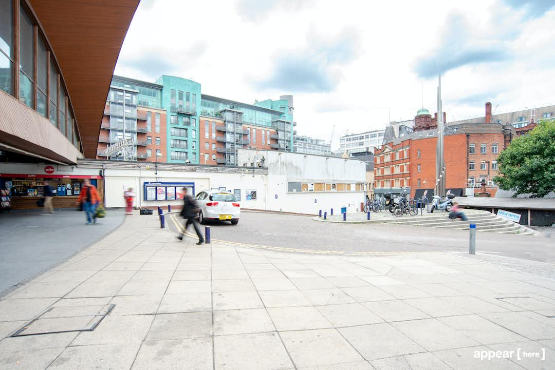 The Oxford Road Station Market Stall, Manchester