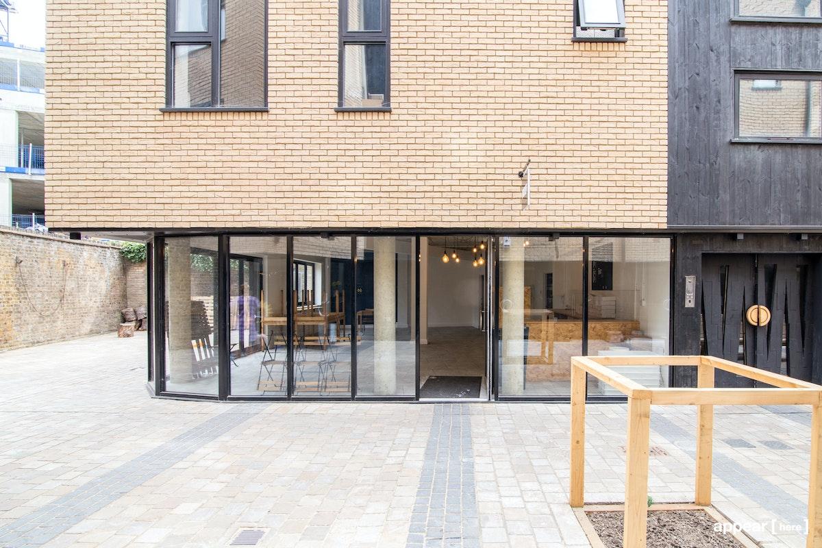 The Hackney Central Courtyard Café