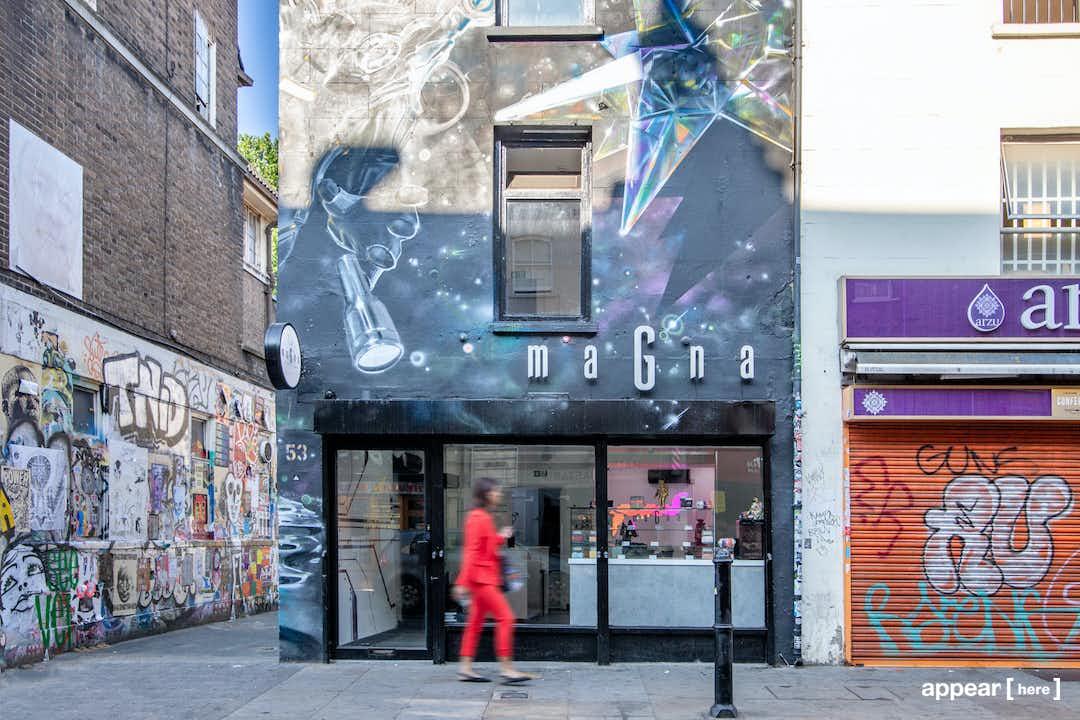 Brick Lane's Mural F&B & Retail Space