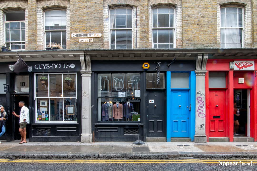 The Cheshire Street Tailors – Shoreditch
