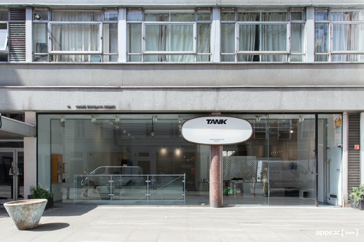 Great Portland Street – Tank Magazine HQ, Shared Space