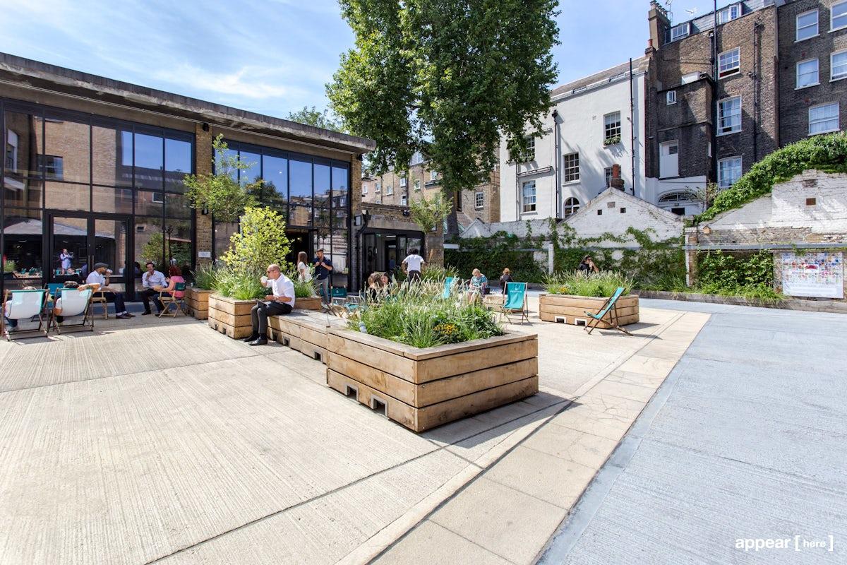 Eccleston Yard , Belgravia , London