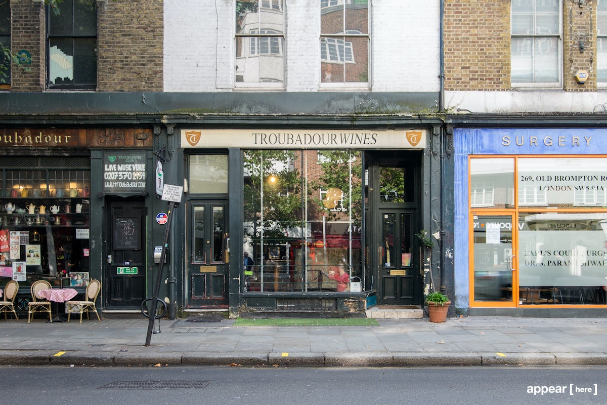 Js Auto Manchester >> Rent a space | The Troubadour Store, Old Brompton Road | Pop up shops, showrooms, galleries in ...