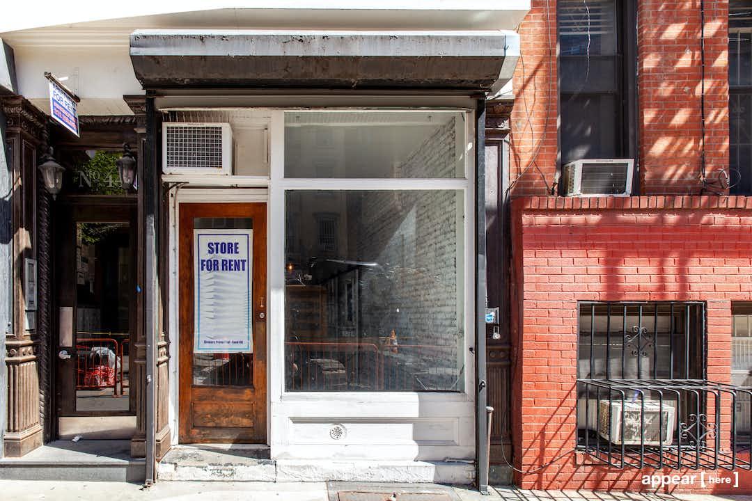 East 1st Street Pop-Up Shop, East Village
