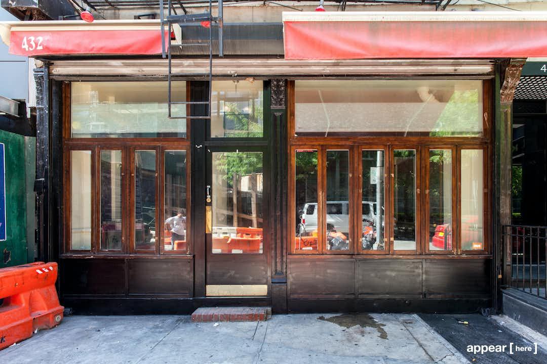 East Village - 13th Street Restaurant Space