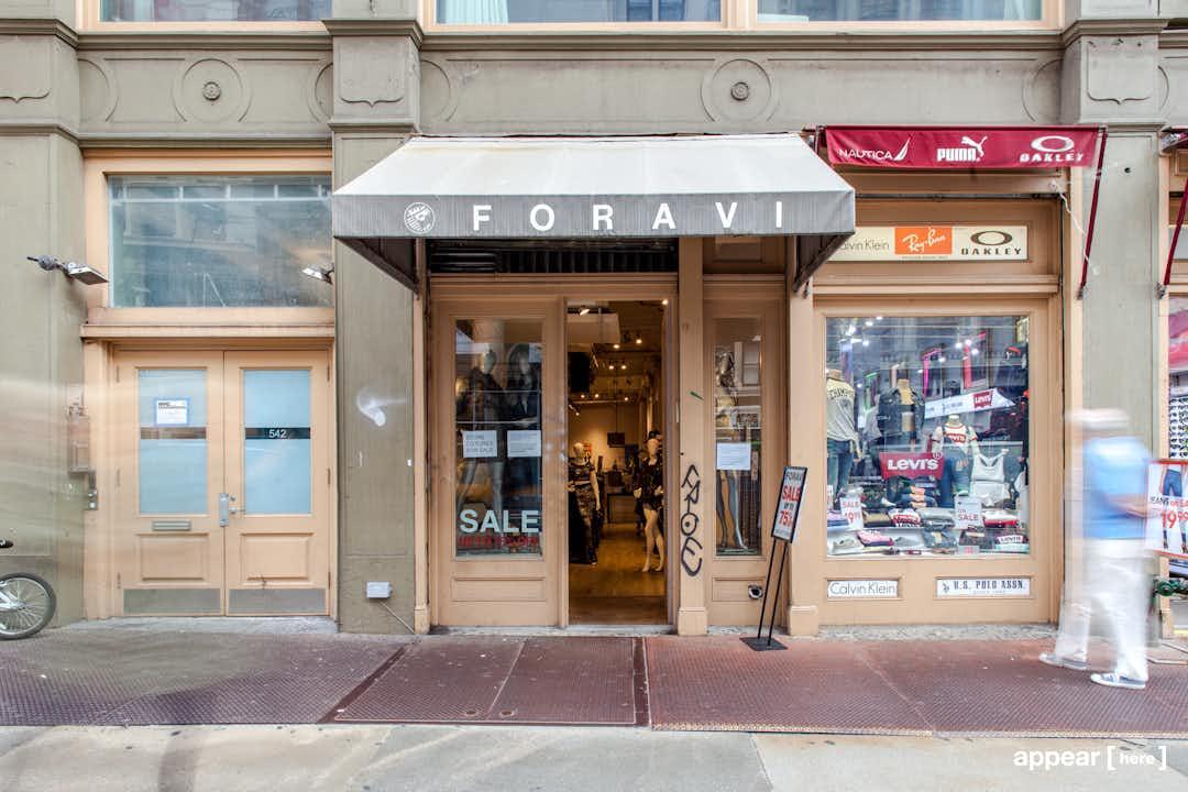 542 Broadway , New York, NY