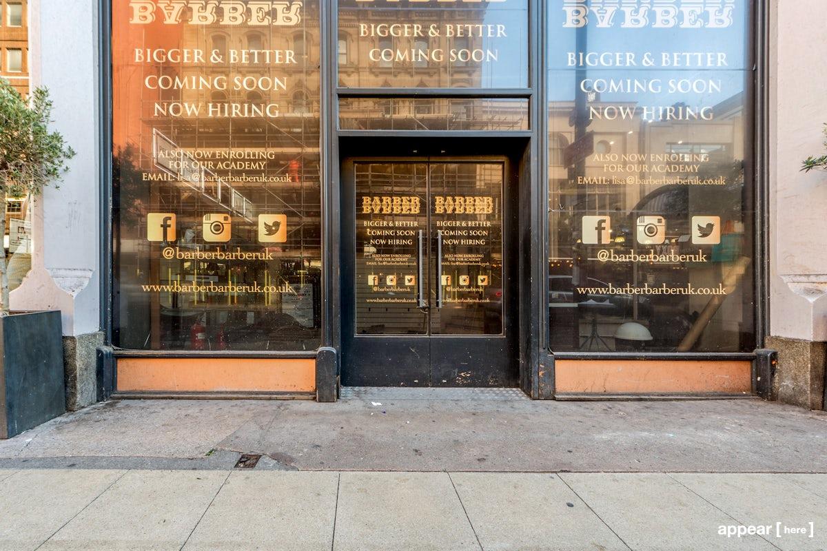 Barton Arcade unit 1, Manchester