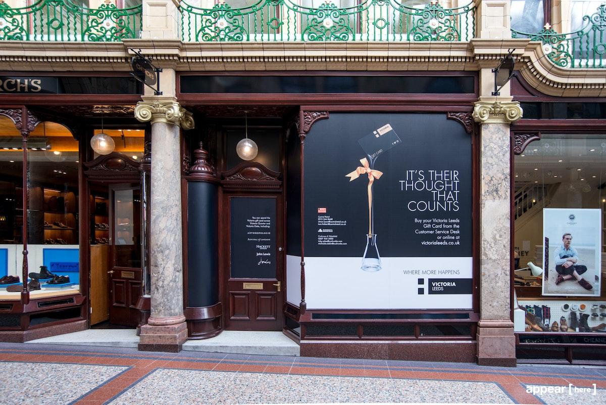 Rent A Space Victoria Quarter Two Floor Boutique Leeds