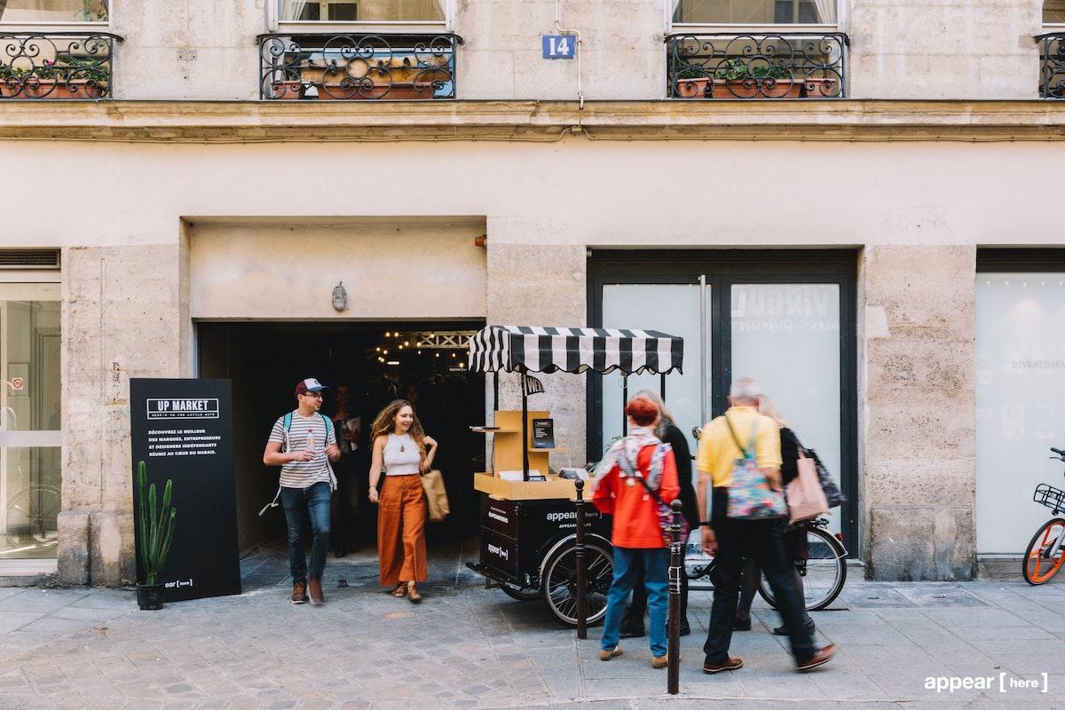 Up Market Paris - Le Marais