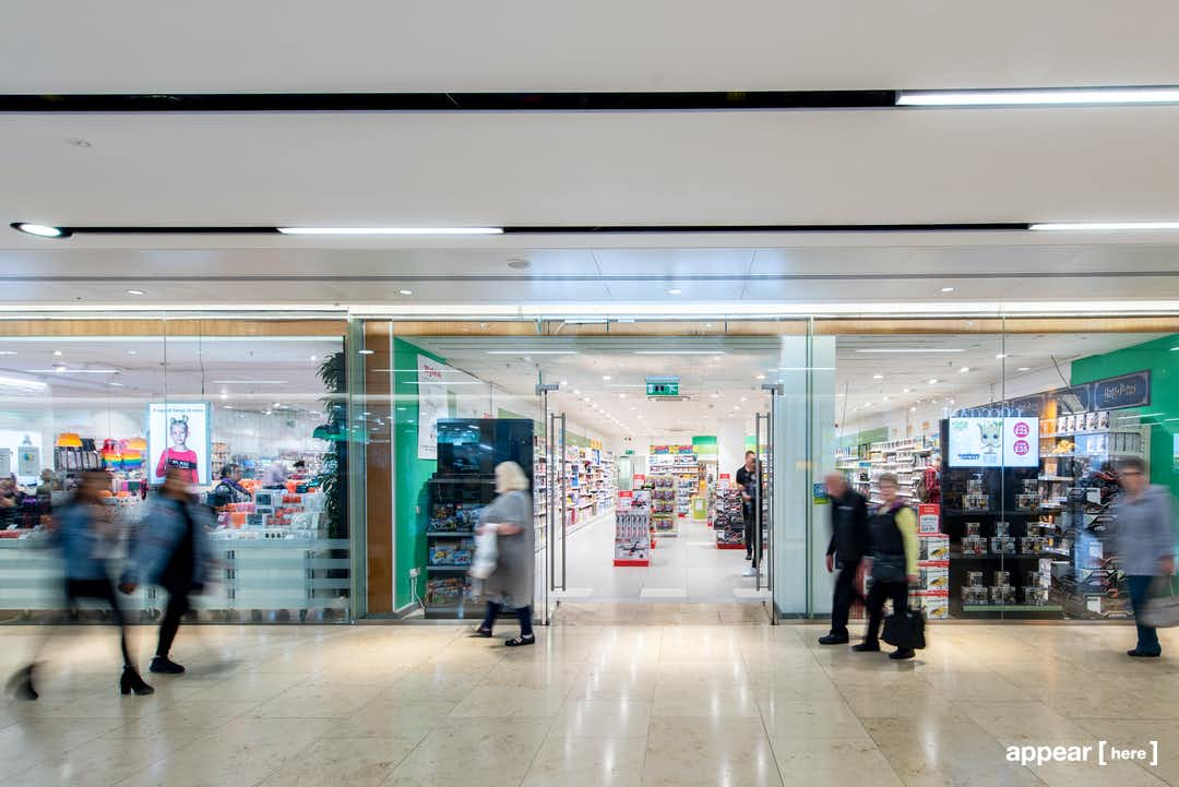 Glass-Fronted Shop - Grand Central, Birmingham (Unit U27)