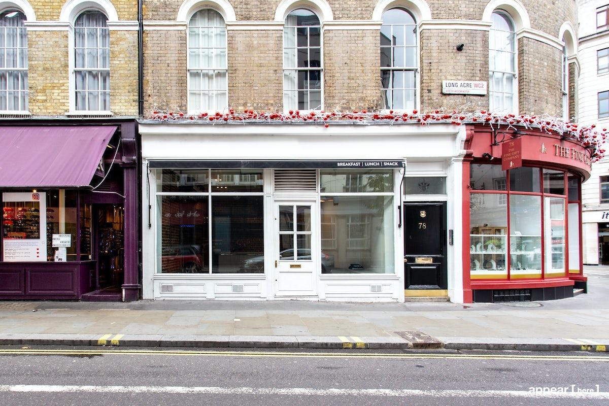 White Covent Garden Boutique, Long Acre