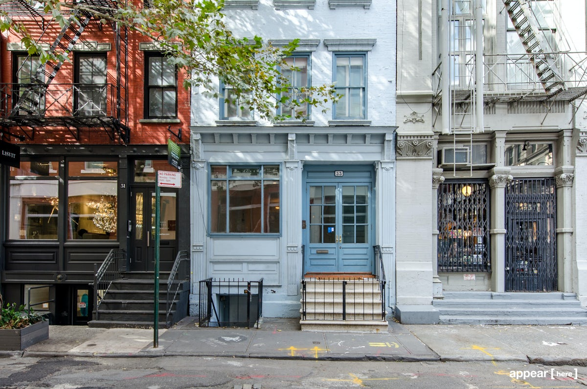 Soho's Converted Townhouse Space
