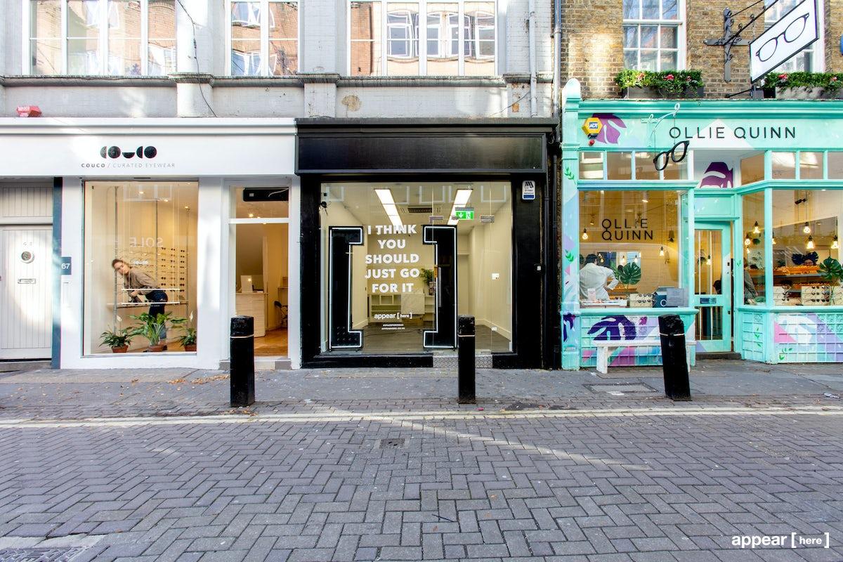 Magnificent Rent A Space White Boxed Covent Garden Shop Neal Street Inzonedesignstudio Interior Chair Design Inzonedesignstudiocom
