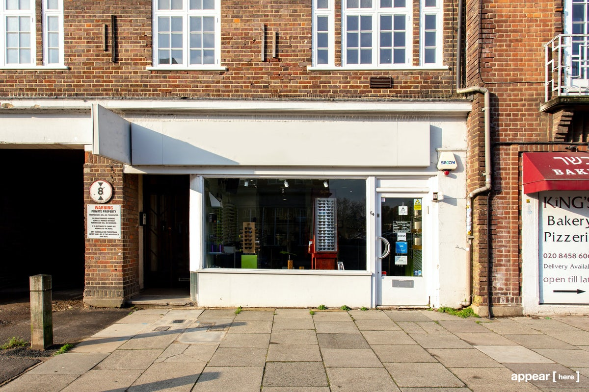 Js Auto Manchester >> Rent a space | Hampstead Garden Village White Storefront | Pop up shops, showrooms, galleries in ...