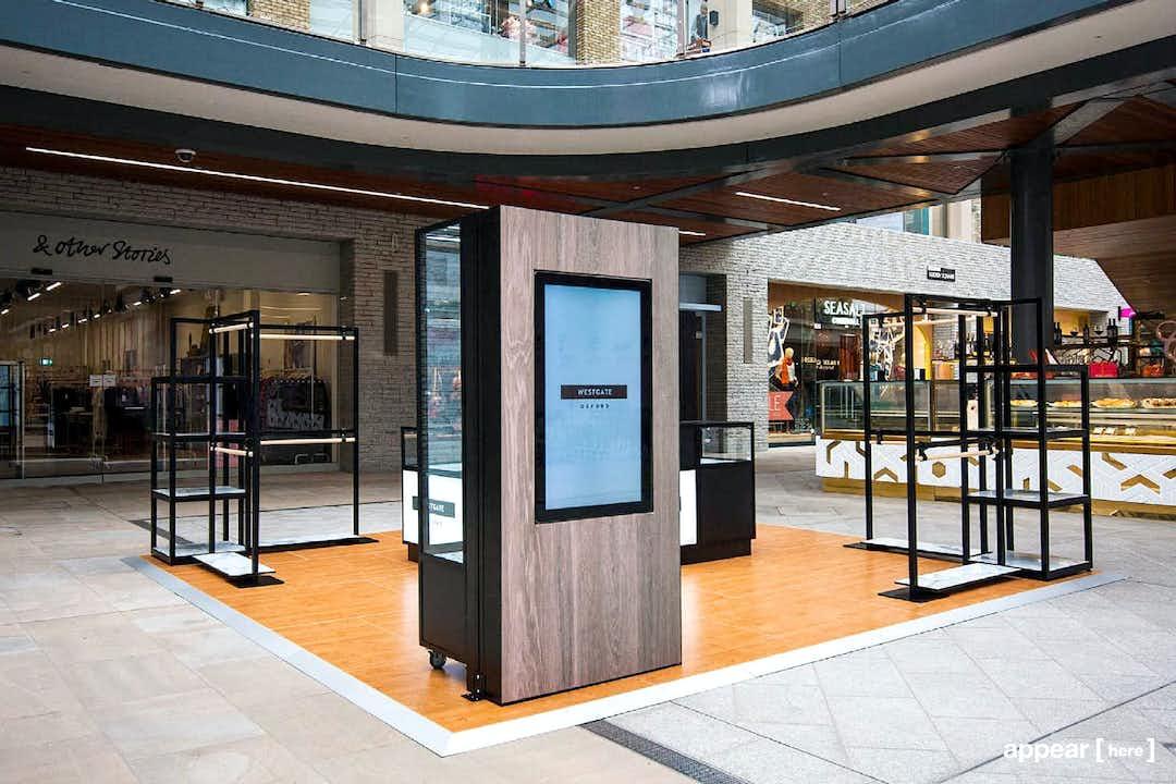 Westgate Centre Retail Kiosk, Oxford
