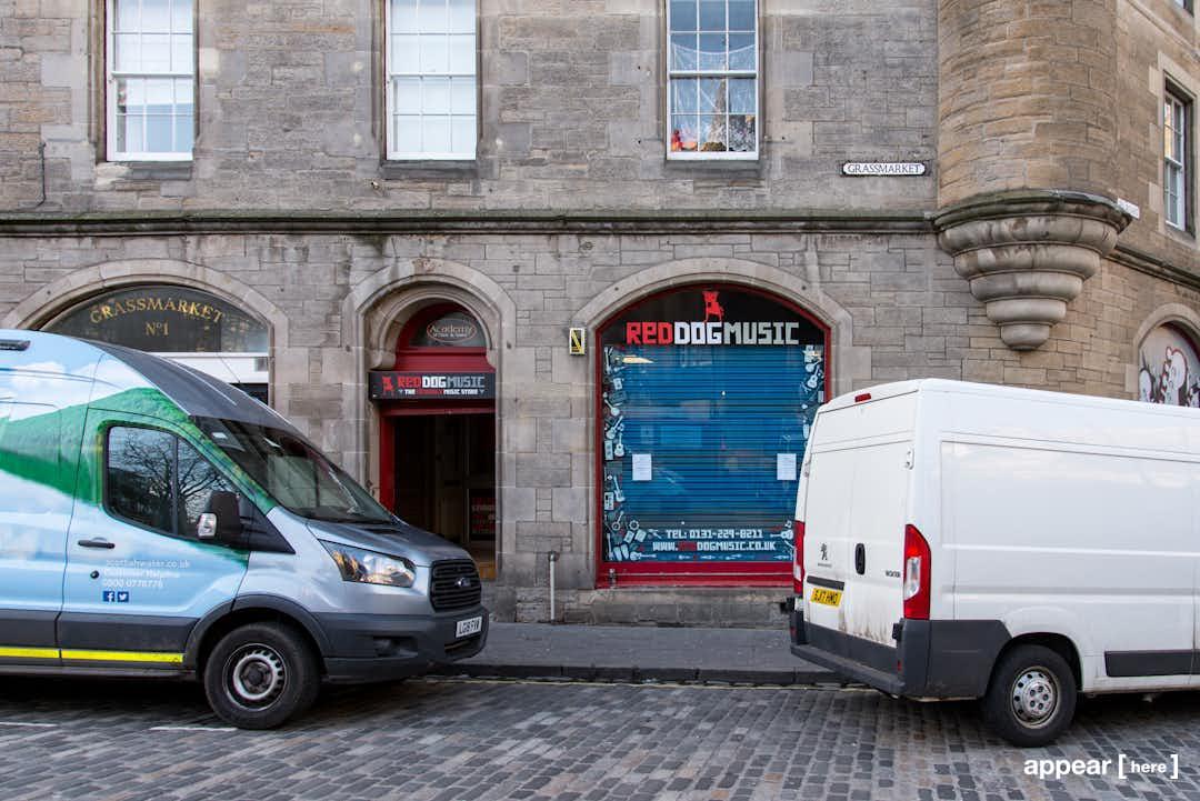 The Old Music Shop - Grassmarket, Edinburgh
