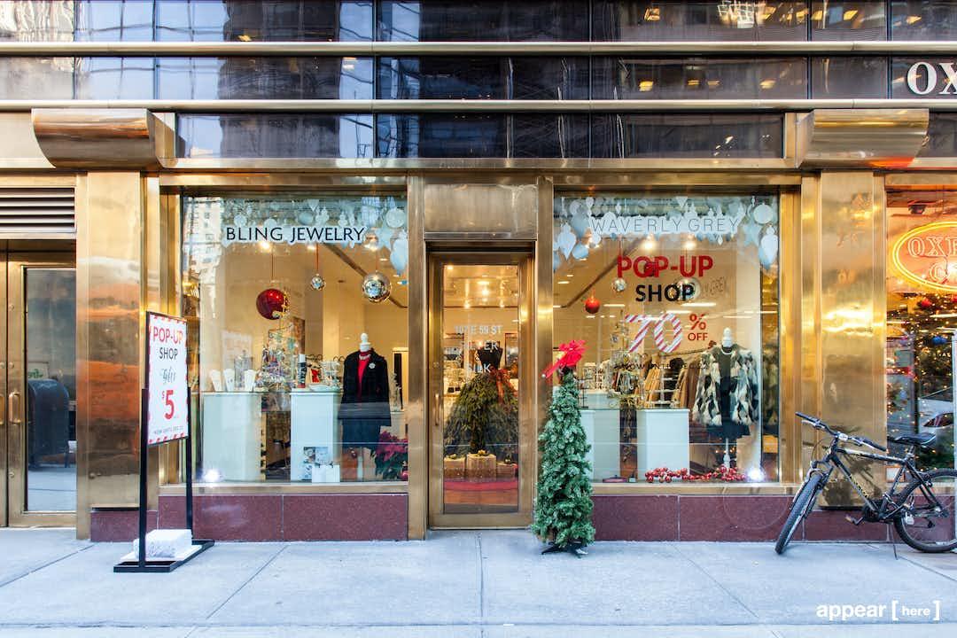 Midtown Corner Showroom, East 59th Street