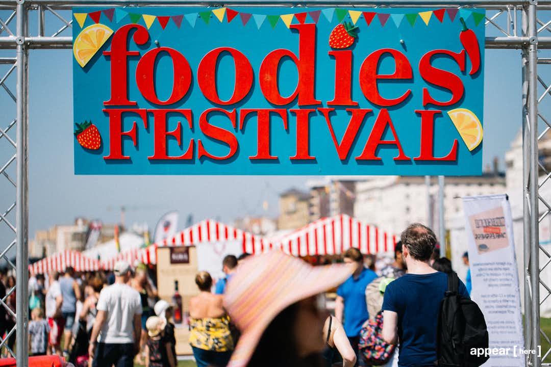 Edinburgh Foodies Festival Exhibition Stand - Inverleith Park