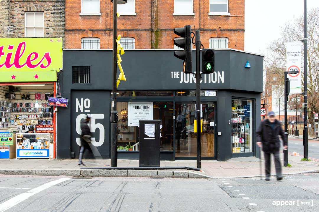 The Junction, Seven Sisters Road – Corner Cafe Space