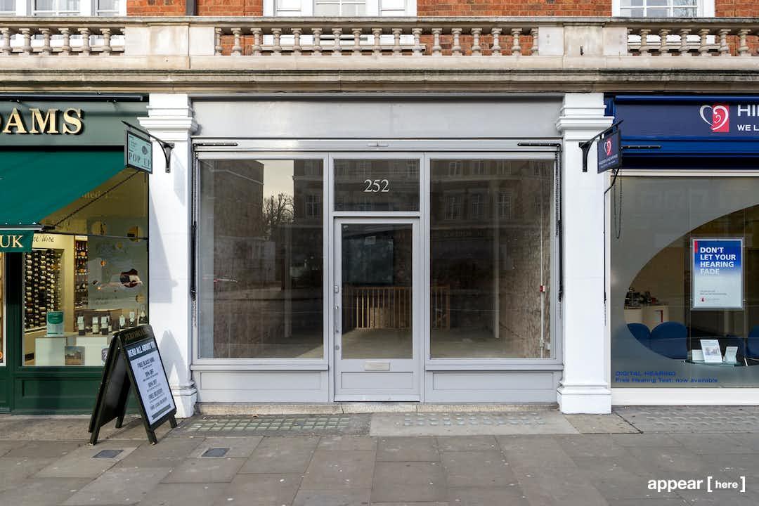 Kensington High Street - Grey Boutique