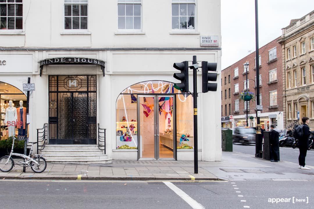 The Arch-Windowed Shop, Marylebone