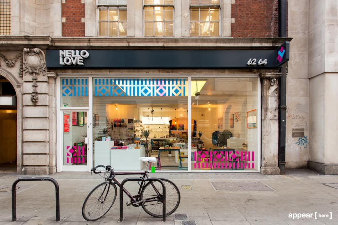Bloomsbury Pop-Up Shop - Southampton Row