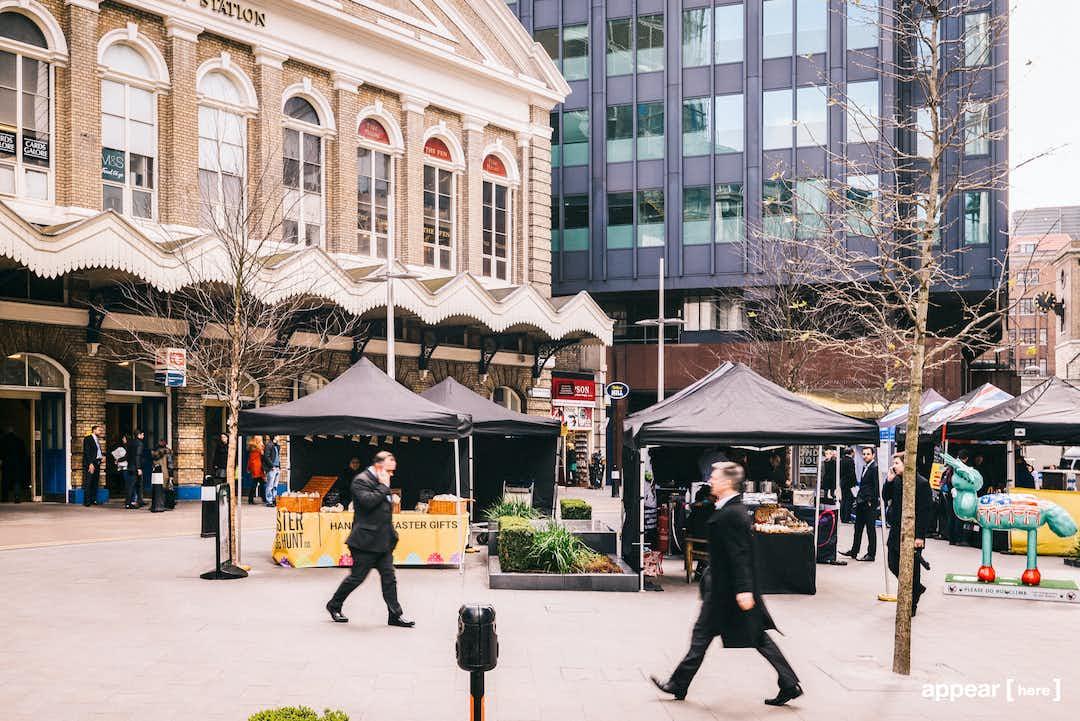 Fenchurch Street Market - 8, London