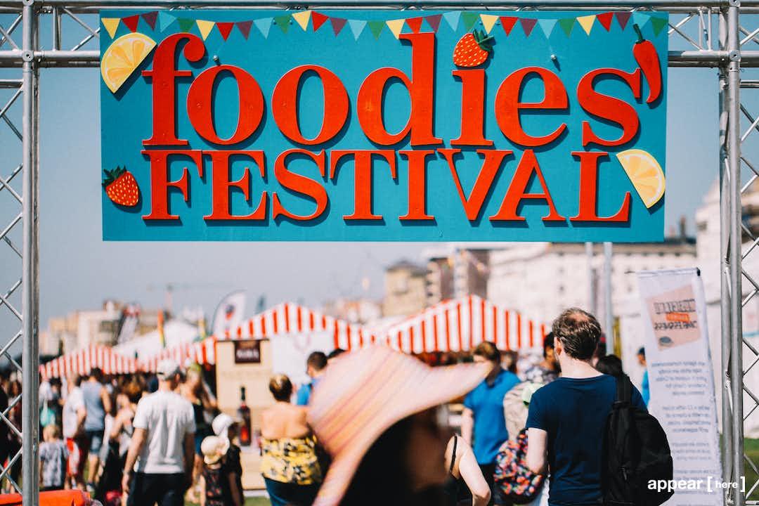 Market Stall, Birmingham Foodies Festival – Cannon Hill Park