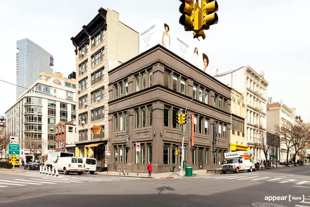 Js Auto Manchester >> Rent a space | West Broadway - Soho's Corner Retail ...