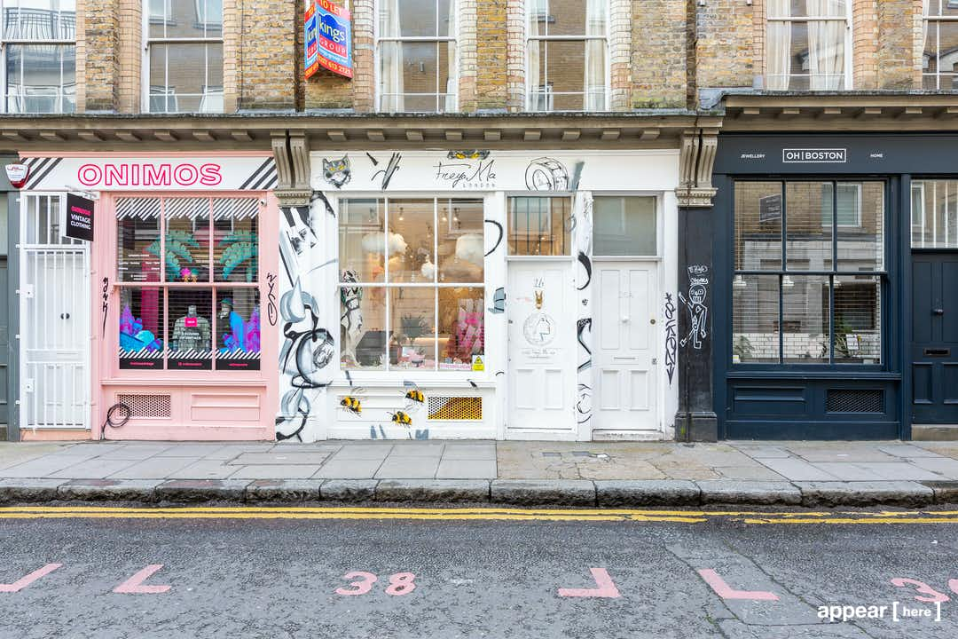 Cheshire Street, Shoreditch - The Illustrated Boutique
