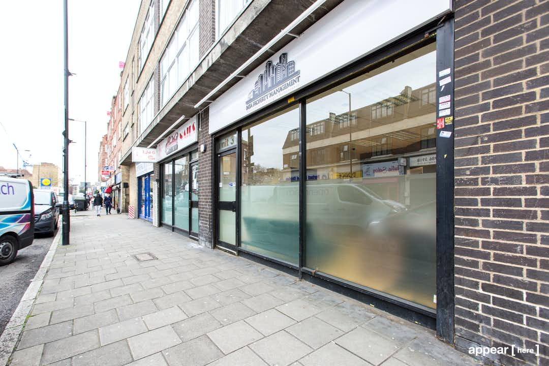Well Street, Hackney - The Glass Front Shop
