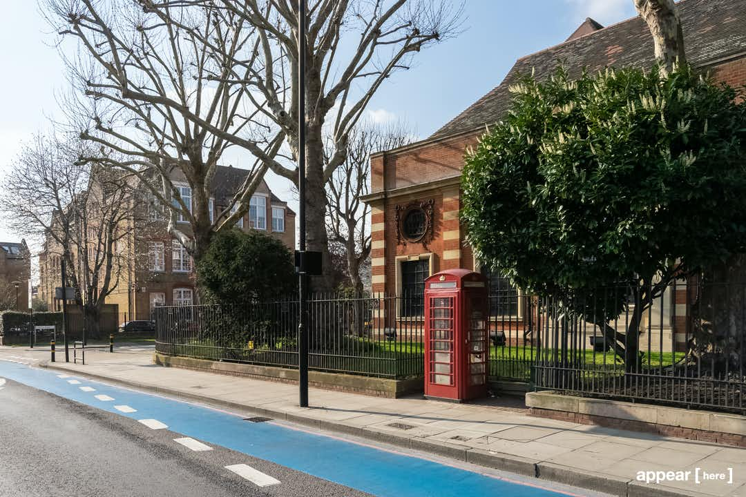 Battersea Park -  The Library Phone Box