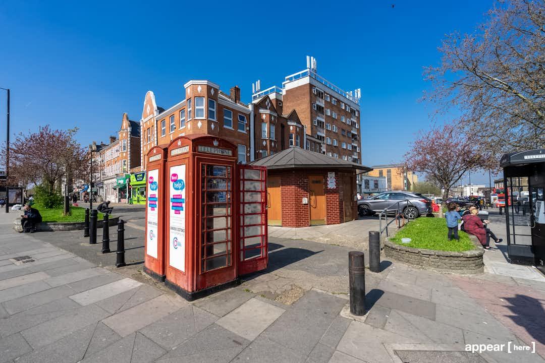 Stamford Hill - The Amhurst Park Phone Box