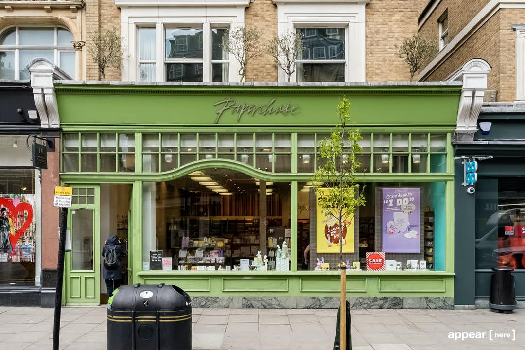 Westbourne Grove, Notting Hill - The Green Shop