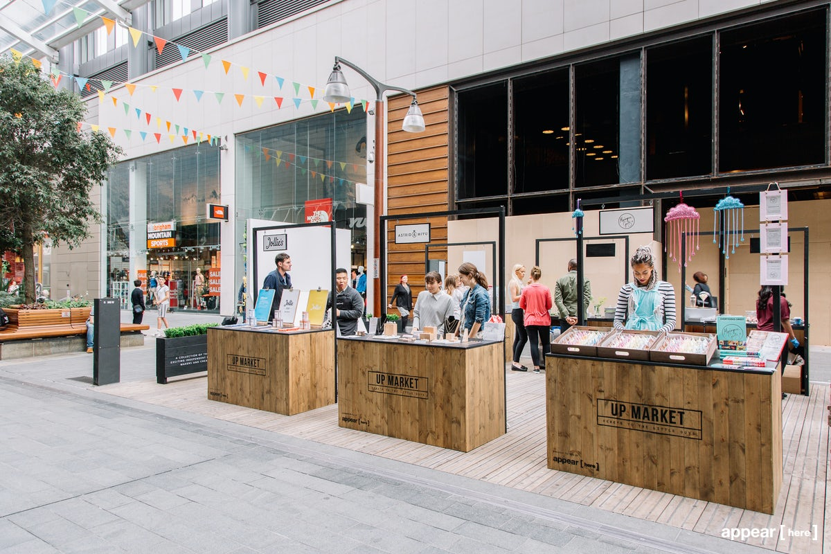 Market Stall 2 – Up Market at White City Place
