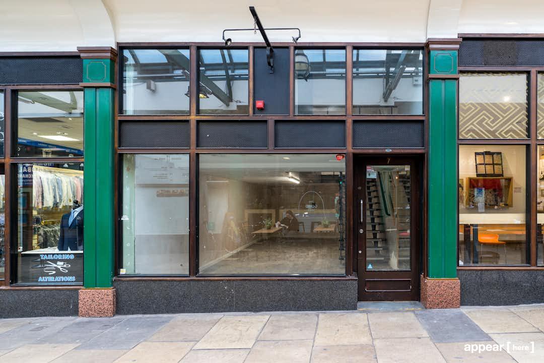 Liverpool Street Arcade, Shoreditch - The Mezzanine Boutique