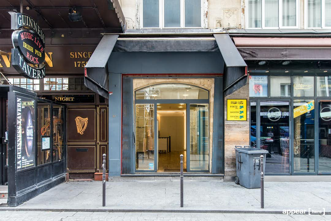 33 rue des Lombards, Châtelet - Les Halles, Paris