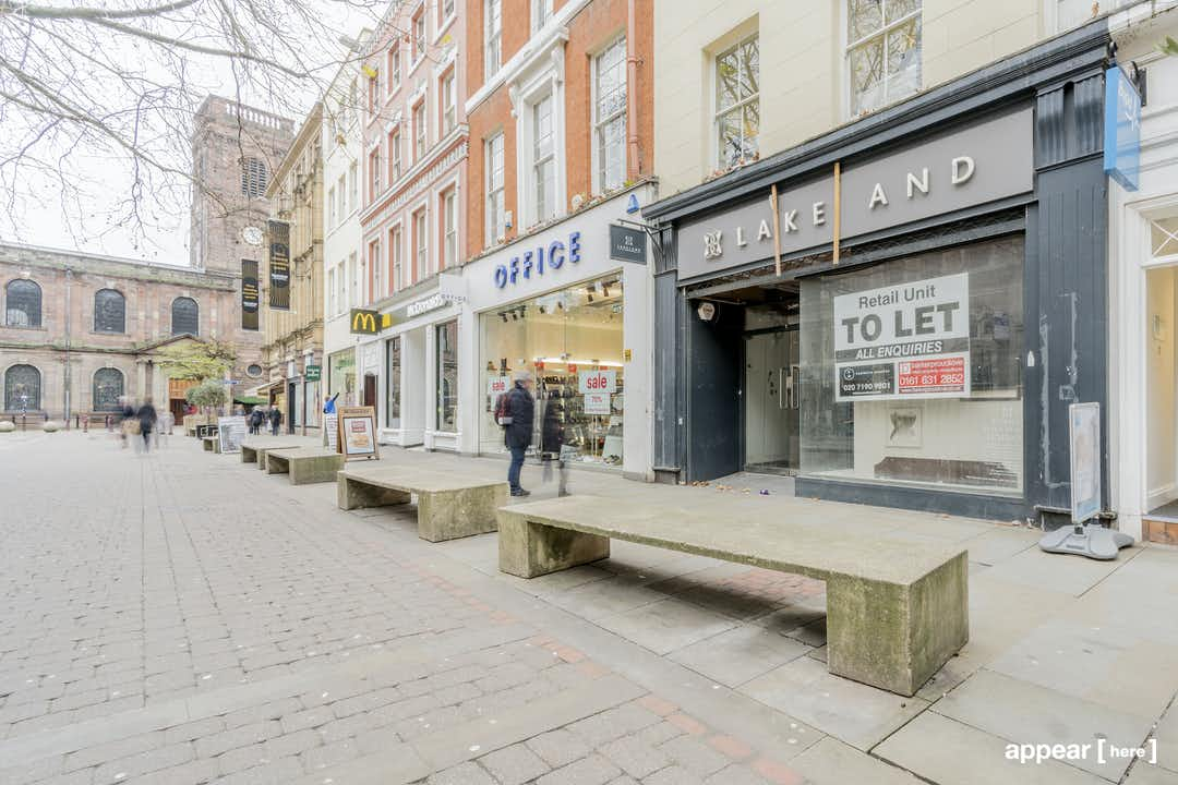 St. Ann's Square, Manchester - The Retail Space