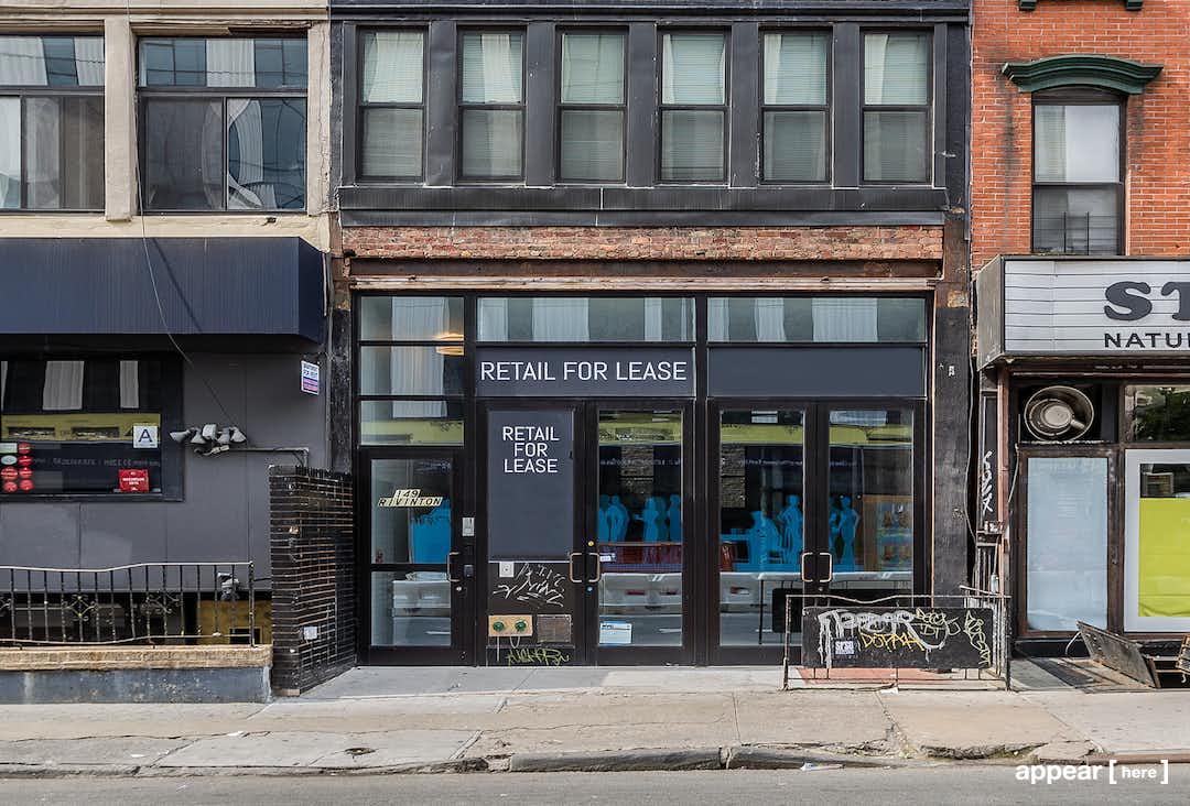 Rivington Street , Lower East Side - Exposed Brick Pop Up