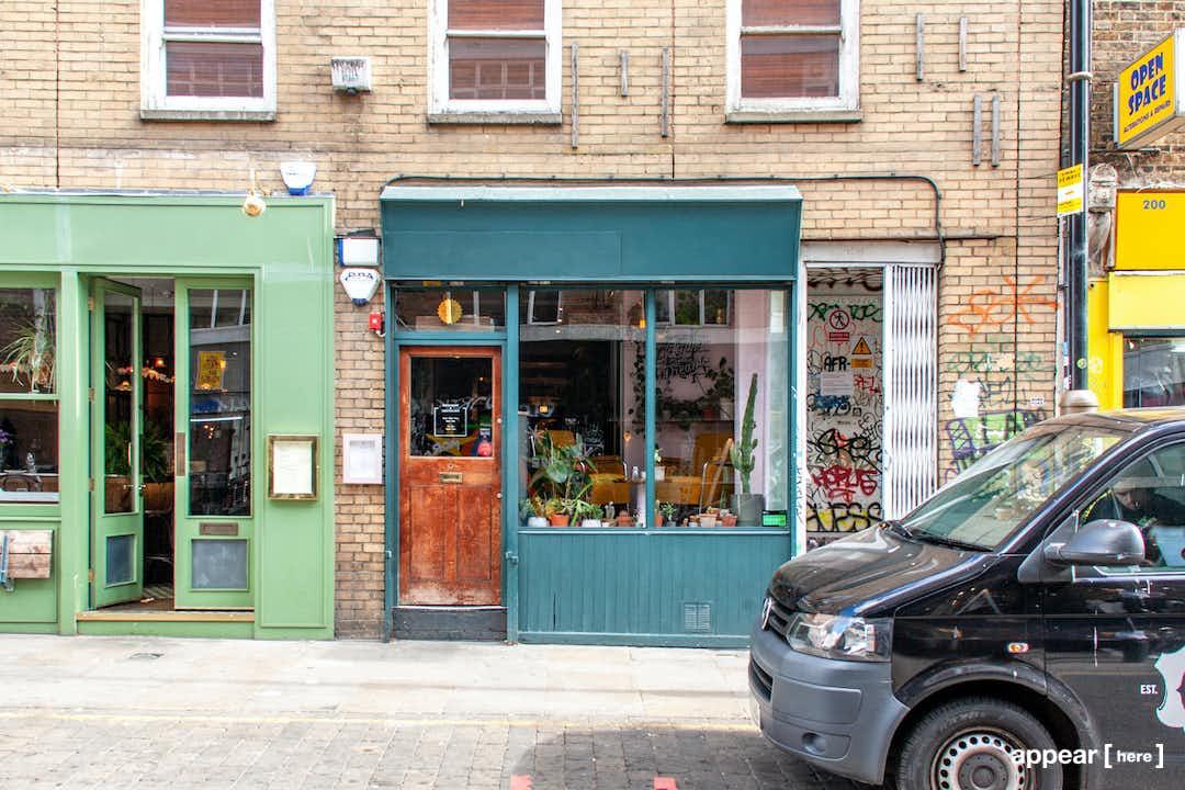 Brick Lane, Shoreditch - The Blue Bar and Restaurant
