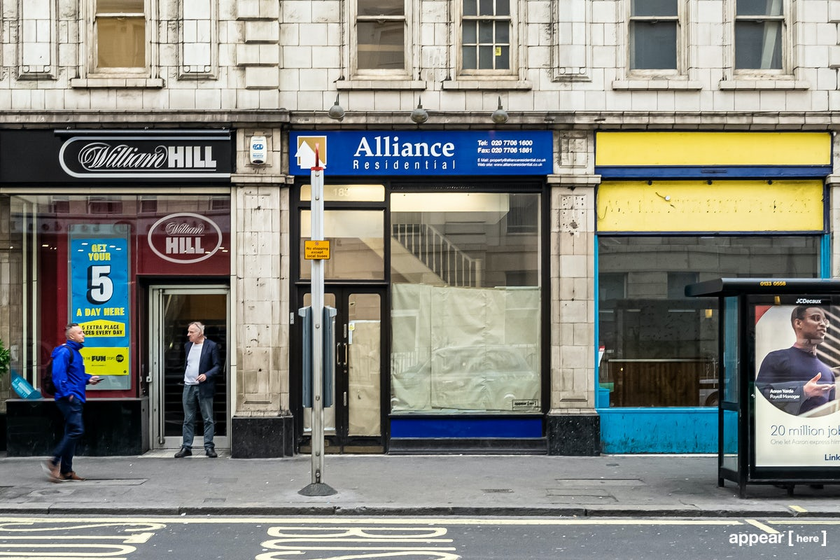 183 Praed Street, London