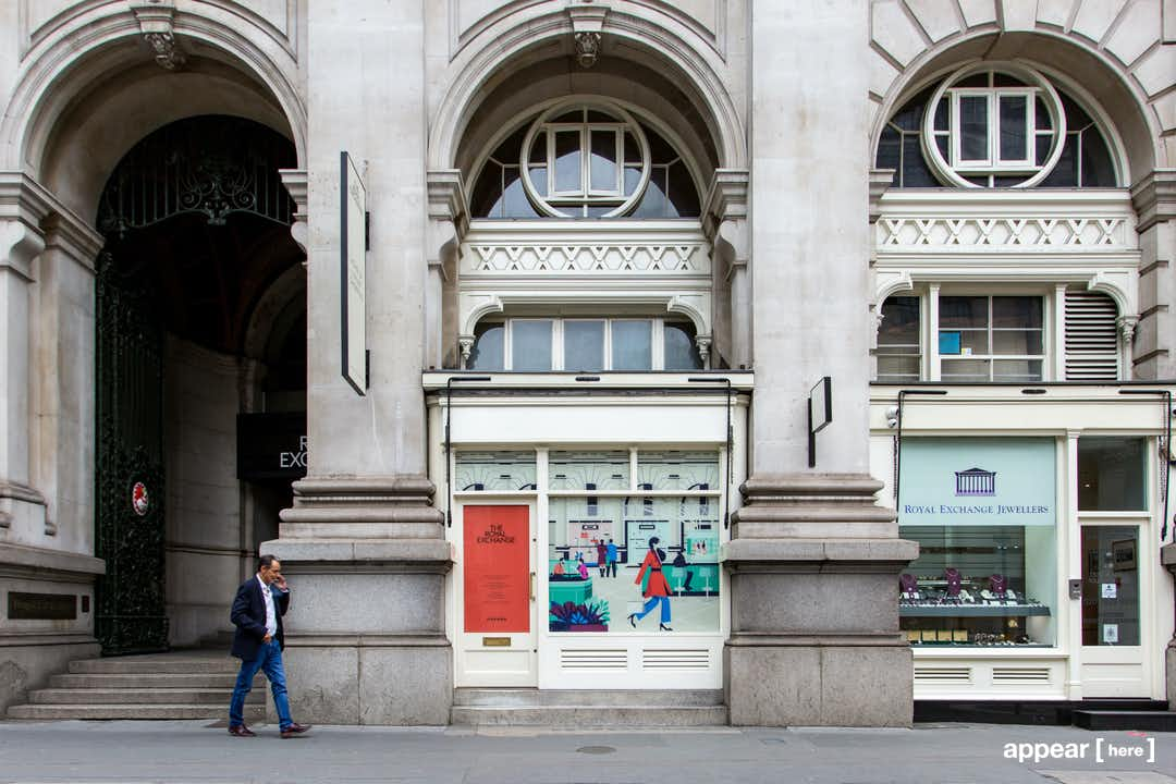 Royal Exchange, Bank - Boutique Space