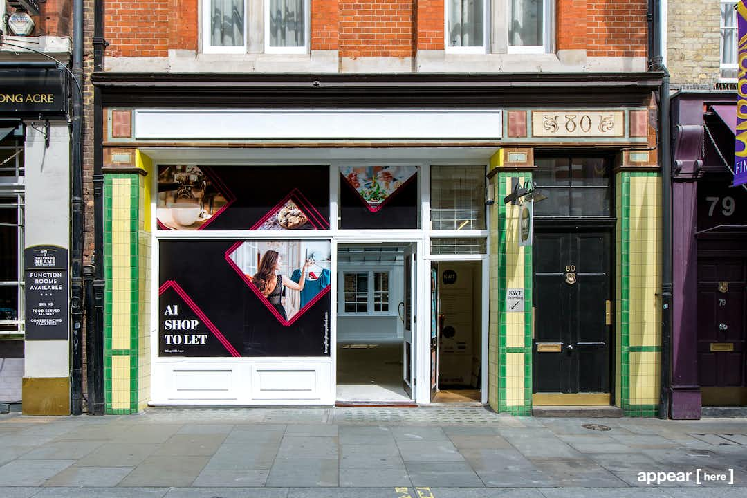 Long Acre, Covent Garden – Whiteboxed Space