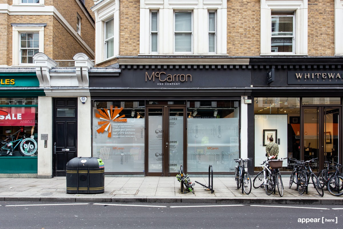 Rent A Space Westbourne Grove Notting Hill Showroom Pop Up